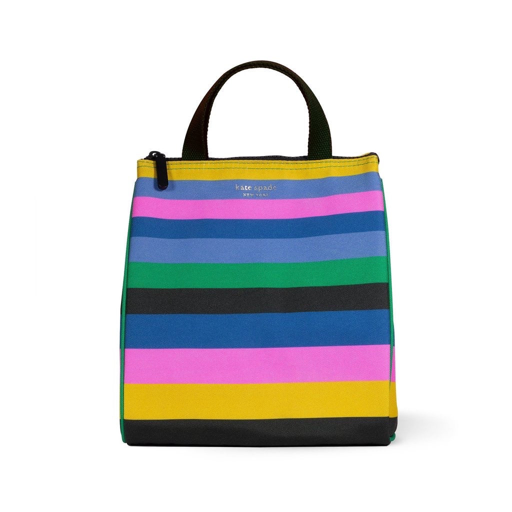 kate spade new york lunch bag, enchanted stripe