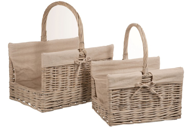 Logs Baskets Willow