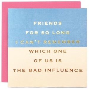 SOH Birthday Card - Friends for so long