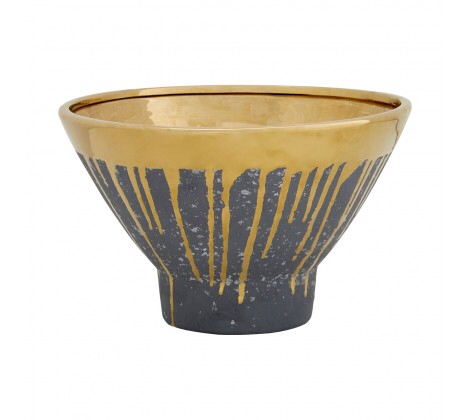 Cyrus Gold Grey Bowl
