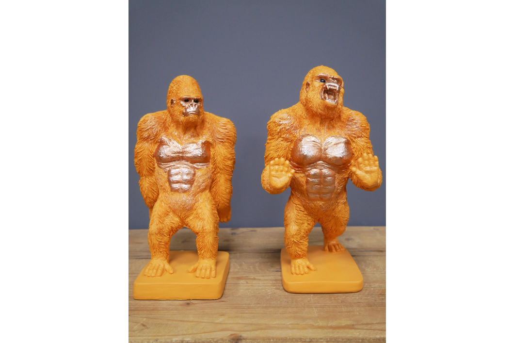 Gorilla Bookends