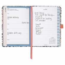 To Do Diary 2021 - A6 Navy Dot