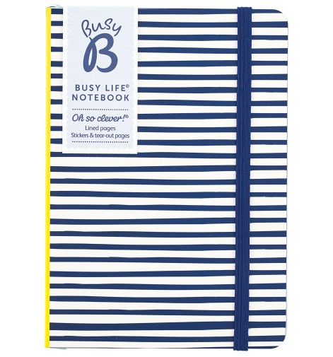 BUSYB - BUSY LIFE NOTEBOOK STRIPE A6