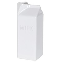 Ceramic Milk Carton Jug