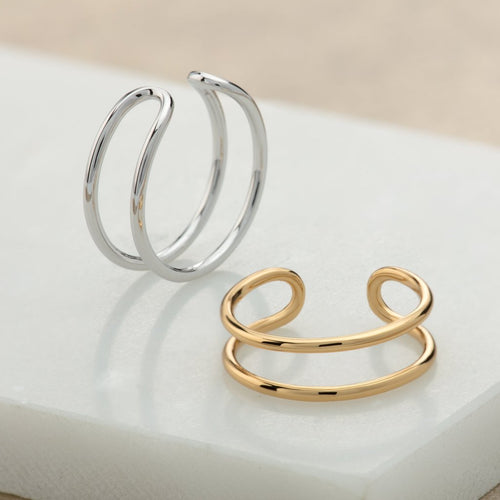 SP - Double Band Adjustable Ring