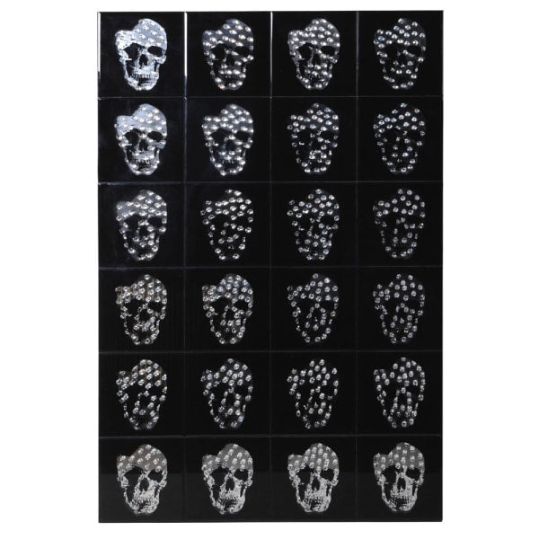 Skull Mirrored Wall Decoration