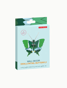 Swallowtail Butterfly Wall Decoration