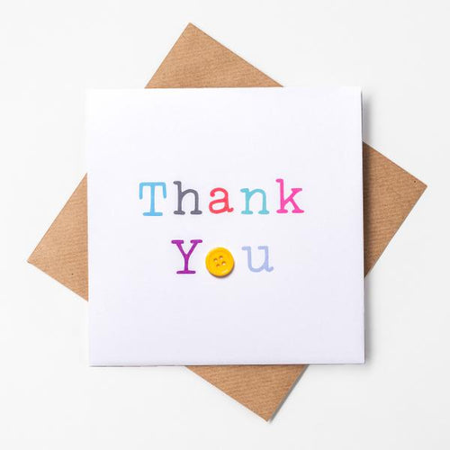 LPM Button Thank You Card