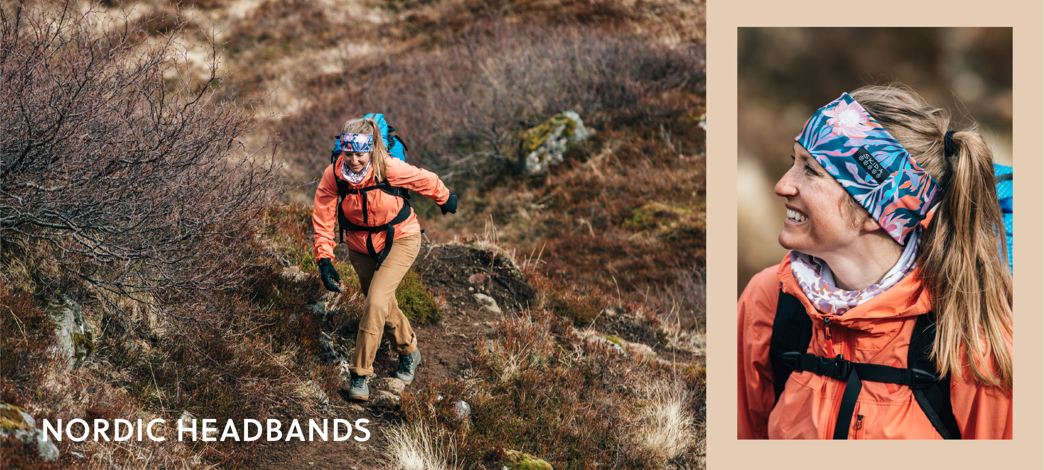 Skida's Lightweight & Breathable Nordic Headbands