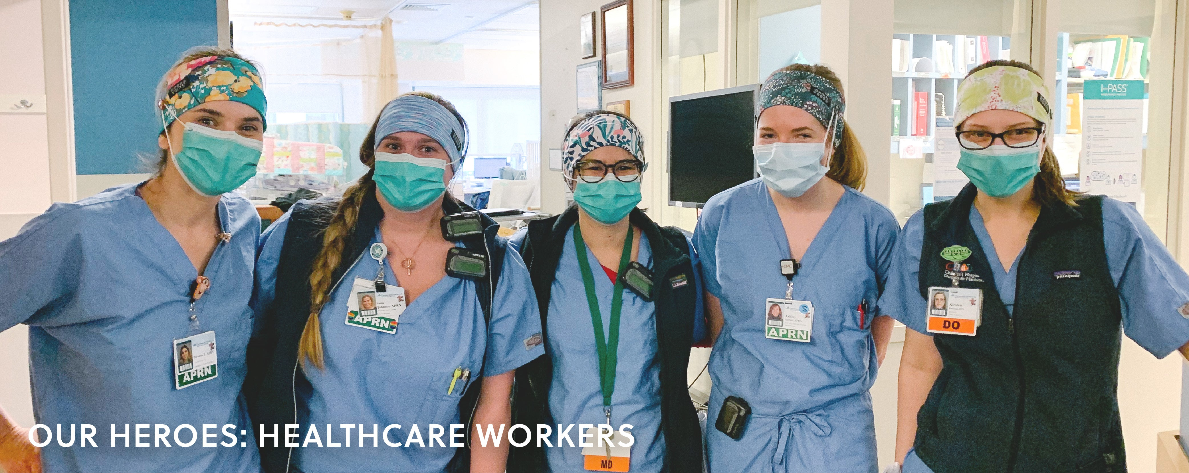 Thank you healthcare workers!