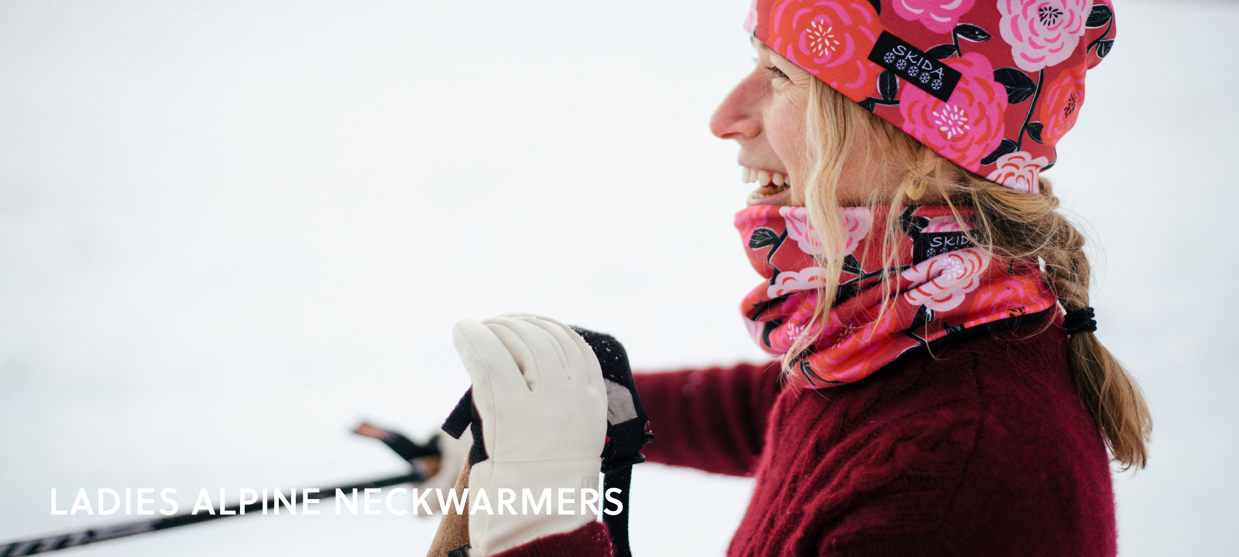 Shop Ladies Alpine Neckwarmers!