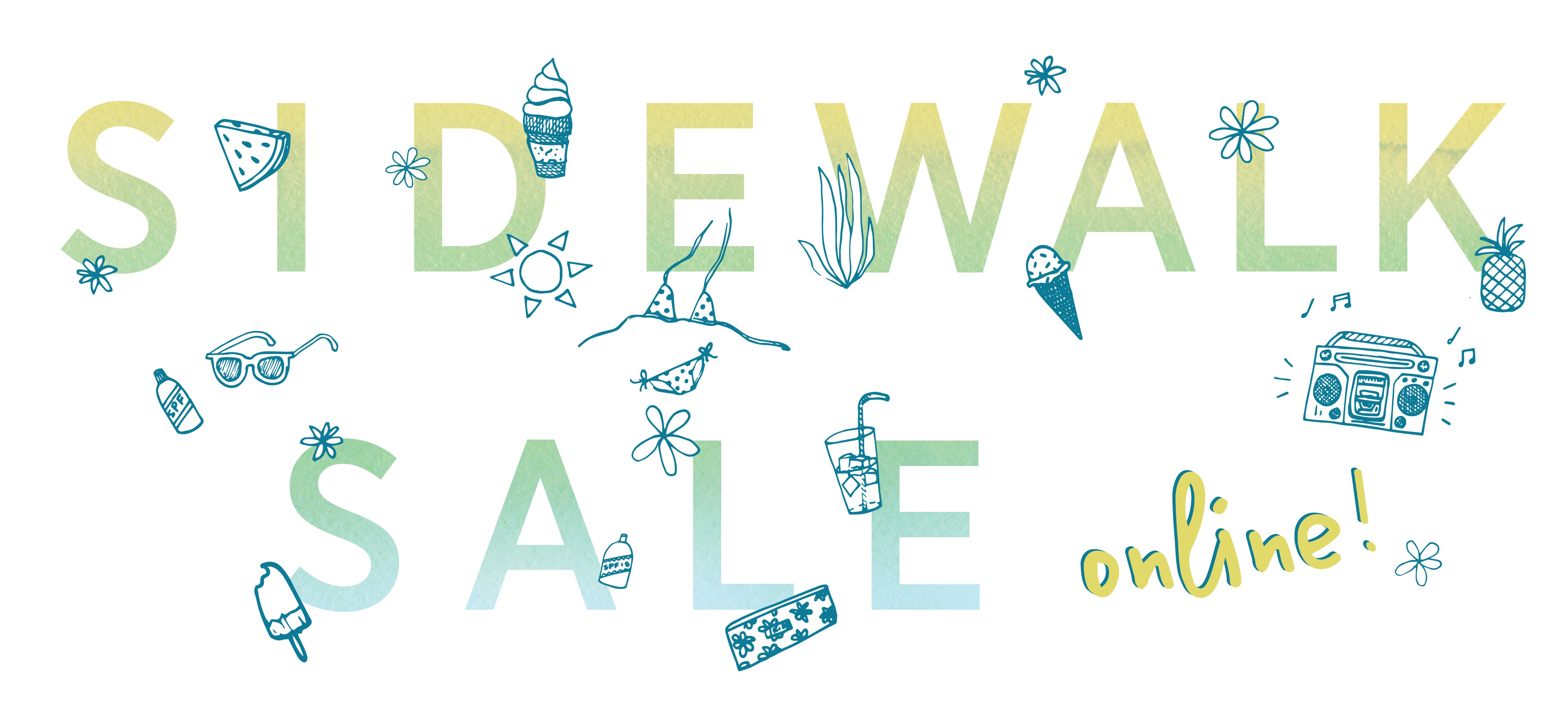 Skida Sidewalk Sale - now online!