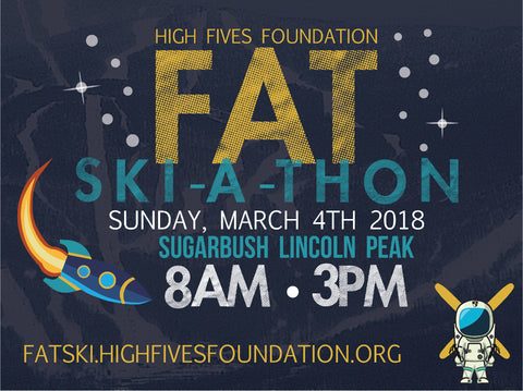 2018 High Fives Foundation Fat Ski A Thon