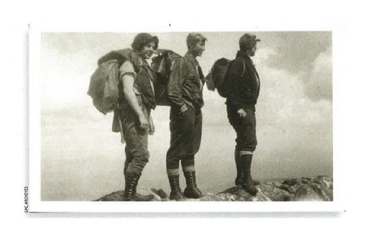 The Three Musketeers | The First Female end-to-end Long Trail Hikers