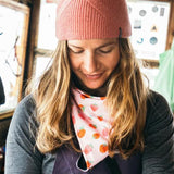 bandita Skida Polartec Winter Lined neck warmer strawberry