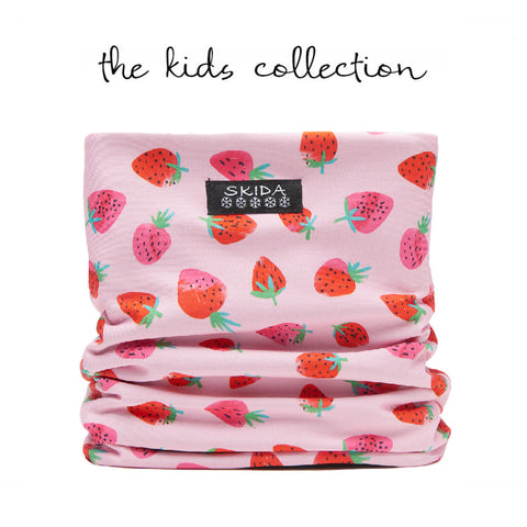Strawberry Fields | Alpine Neckwarmer | Kids