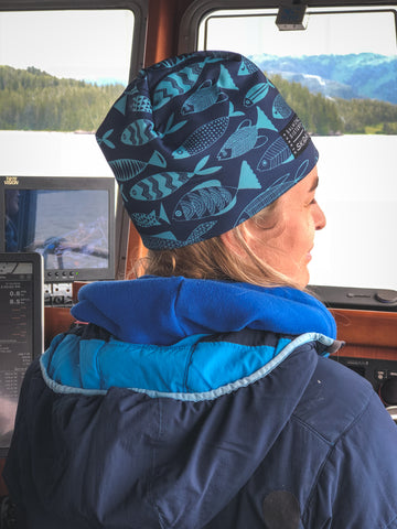 Salmon Sisters | Blue Fish | Alpine Hat