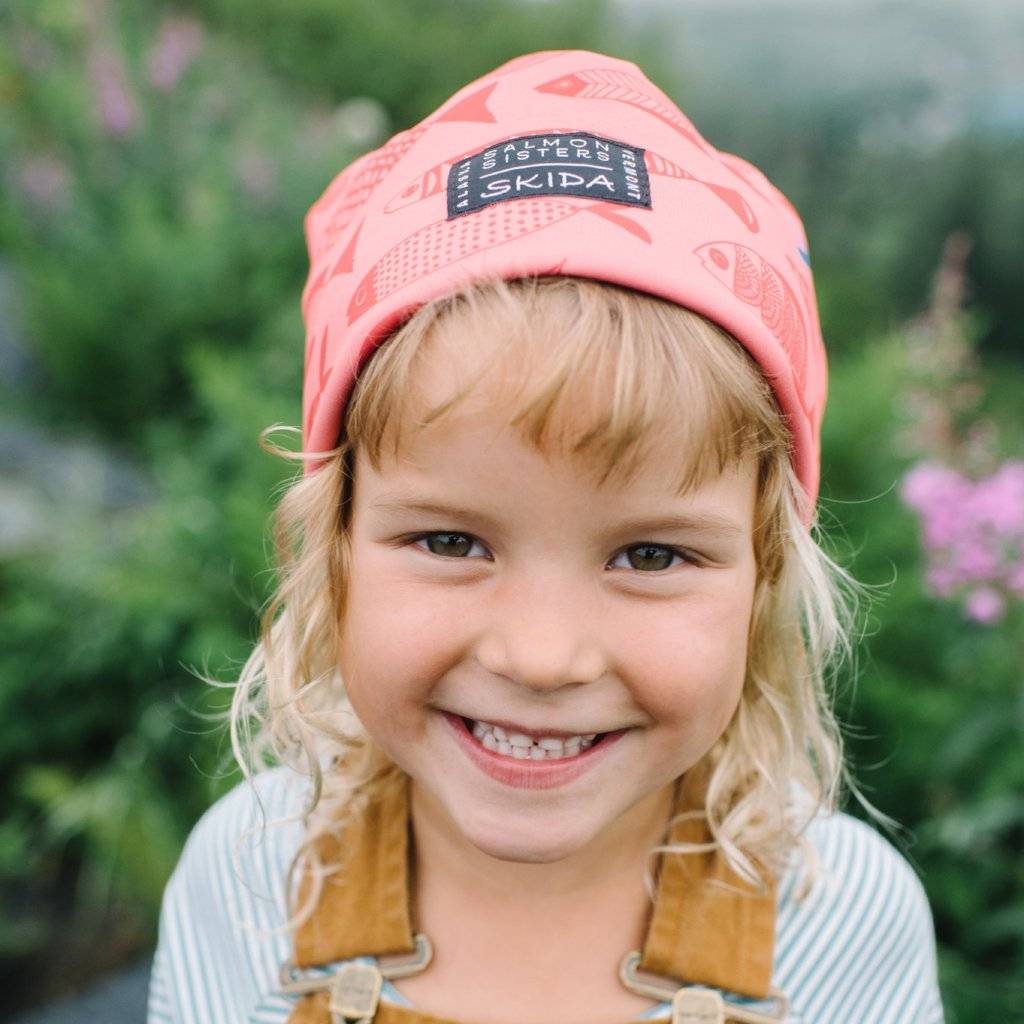Salmon Sisters | Red Fish | Alpine Hat | Kids