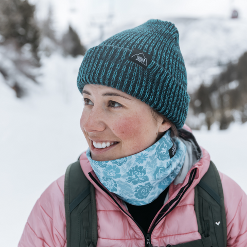 Salmon Sisters | Blue Fish | Alpine Neckwarmer