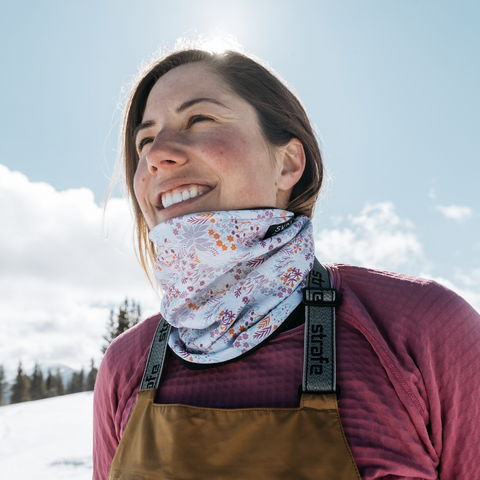 Moon Flower | Alpine Neckwarmer