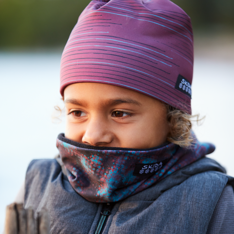 Fire Mist | Alpine Neckwarmer | Kids
