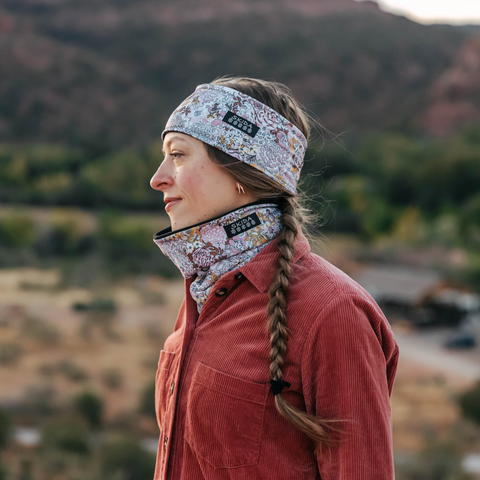 Prairie Bloom | Alpine Neckwarmer