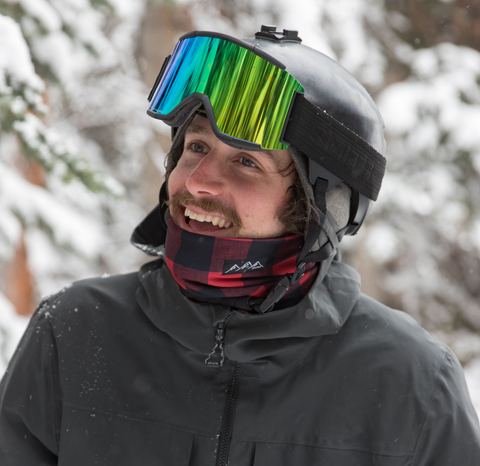 Disco Bristle | Alpine Neckwarmer