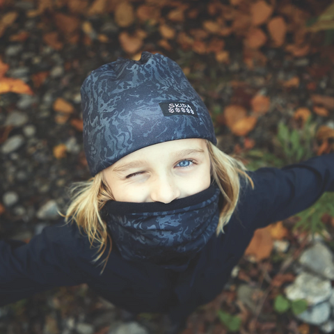 Coral Dash | Alpine Neckwarmer | Kids