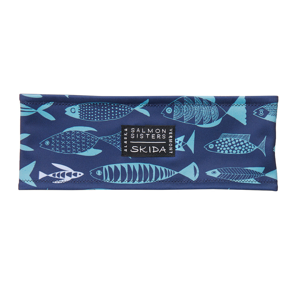 Salmon Sisters | Blue Fish | Alpine Headband
