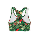 USA Made Dropship Bra St Patricks Patchwork Sports Bra