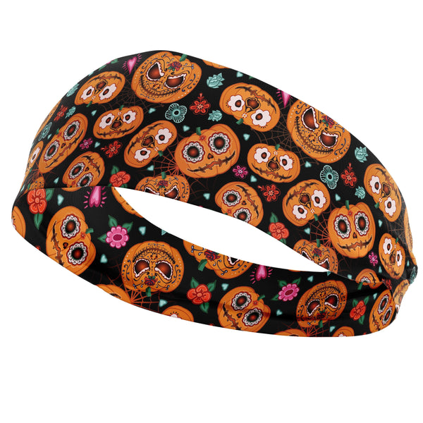 USA Made Dropship Headband Default Title / Multicolored Pumpkin Faces Headband HB1BS182FM