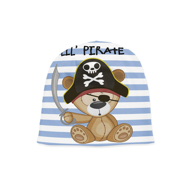 USA Made Dropship Infant Beanie Preemie / Multicolored Infant Lil Pirate Beanie BB1BUMC70PM