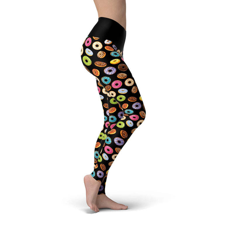 USA Made Dropship Leggings Beverly Donut Shop
