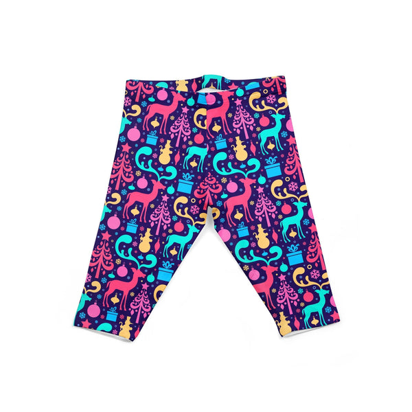 USA Made Dropship Leggings Default Title / Purple Infant Colorful Christmas INON1BUMC6