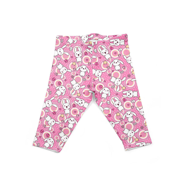 USA Made Dropship Leggings Default Title / Pink Infant Pink Bunnies INON1BUMC12