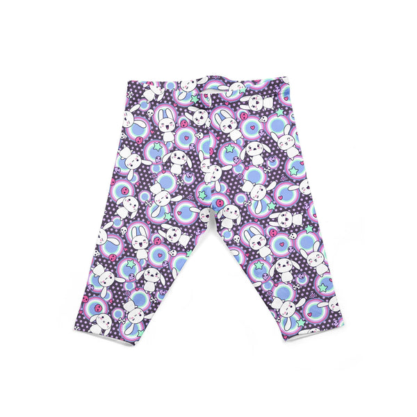 USA Made Dropship Leggings Default Title / Purple Infant Purple Bunnies INON1BUMC13