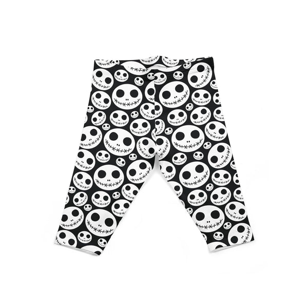 USA Made Dropship Leggings Default Title / Black Infant Skeleton Jack INON1BUMC21