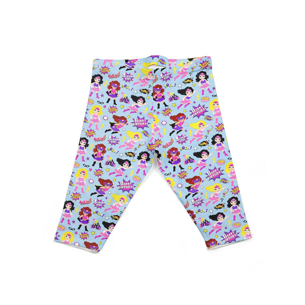 USA Made Dropship Leggings Default Title / Blue Infant Super Girls INON1BUMC10