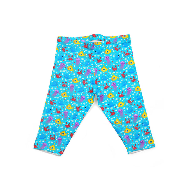 USA Made Dropship Leggings Default Title / Blue Infant Under Water INON1BUMC15