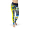 USA Made Dropship Leggings XS / Multicolored Jean Athletic Comic Strip JAL0608-XS-MUL