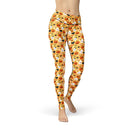 USA Made Dropship Leggings XS / Multicolored Jean Athletic Happyween JAL0617-XS-MUL
