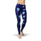 USA Made Dropship Leggings XS / Blue Jean Athletic Jellyfish JAL0562-XS-BLU