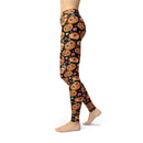 USA Made Dropship Leggings Jean Athletic Pumpkin Faces