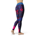 USA Made Dropship Leggings Jean Athletic Purple Twinkle