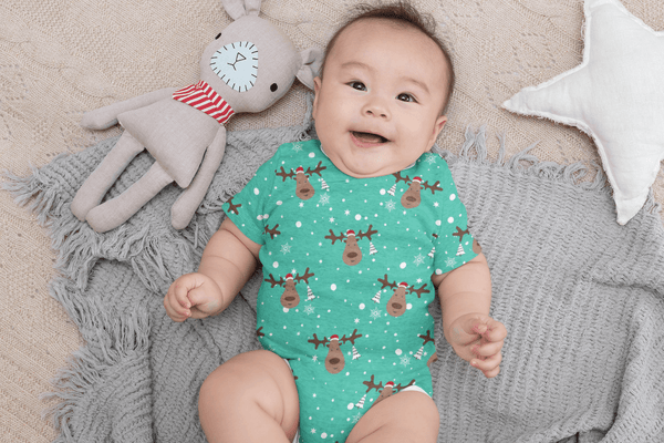 USA Made Dropship Onesie Copy of Star Striped Gift Onesie