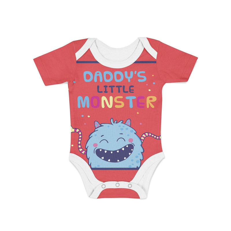 USA Made Dropship Onesie Infant Daddys Lil Monster Onesie