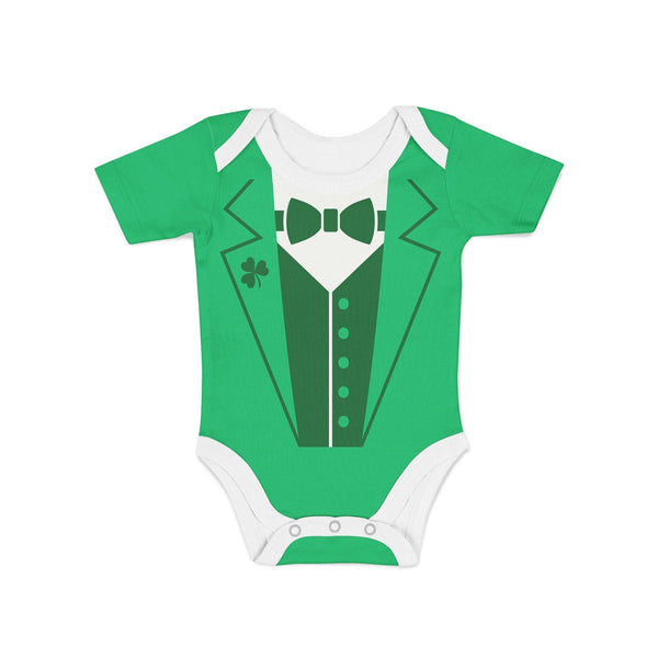 USA Made Dropship Onesie Infant Leprechaun Suit Onesie