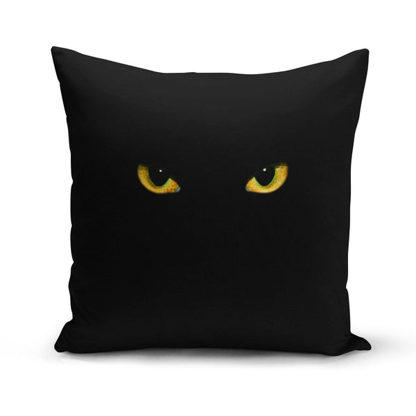 USA Made Dropship Pillow 12x16 / Multicolored Black Cat Pillow Cover PC0265-12X-MUL
