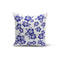 USA Made Dropship Pillow 12x16 / Multicolored Blue Hibiscus Pillow Cover PC0249-12X-MUL