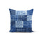 USA Made Dropship Pillow 12x16 / Multicolored Blue Textured Pillow Cover PC0246-12X-MUL